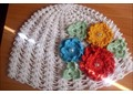 Вязанная ажурная шапочка