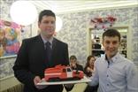 2е место: Евгений, Эльдар и пожарная машина